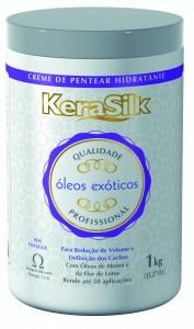 Creme de Pentear Óleos Exóticos - KeraSilk