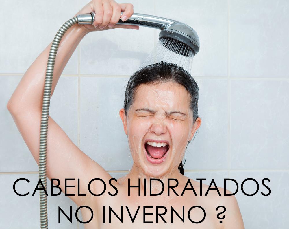 CABELOS HIDRATADOS NO INVERNO