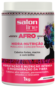 afro salon line lançamento