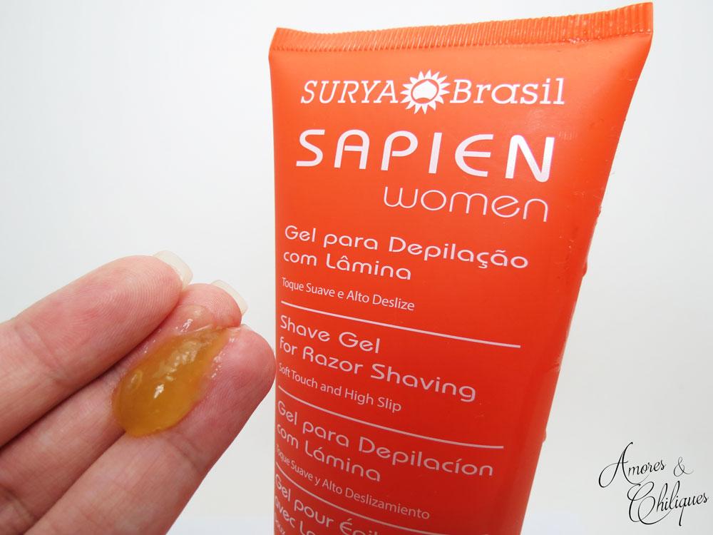 gel para depilação surya brasil