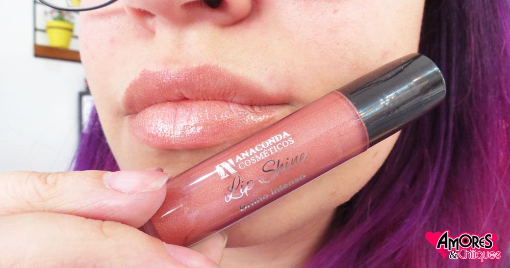 melrose lip shine coleção-batom-brilho-intenso-anaconda-resenha-amores-e-chiliques-blog-socorro-sp